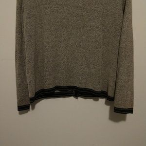 Emma James Sweaters - Cute Emma James Women's Grey Cardigan With Bows